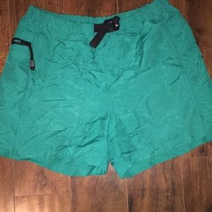 Vintage turquoise north face shorts